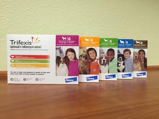 Trifexis is available at Pet First Animal Hospital in Bradenton, FL